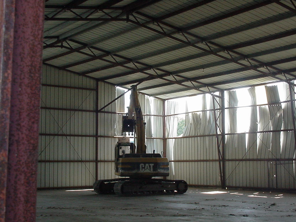 Construction of Airport Hangar by M-3 Enterprises
