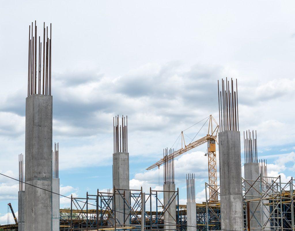 concrete foundation piers